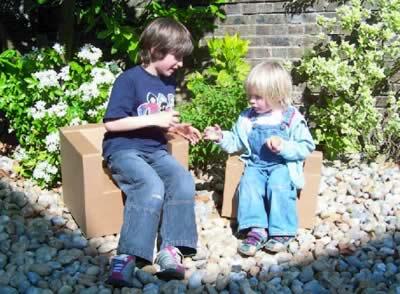 The Paperpod Chair - Cardboard Furniture