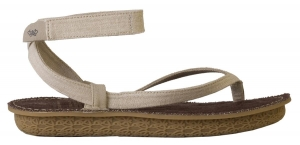 Po-Zu 'Ziggy' Organic Hemp Sandal (Vegan - Natural)