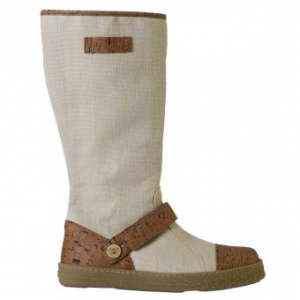Po-Zu 'Yew' Hemp and Cork Boot (Natural)