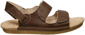 Po-Zu 'Barfly' Leather Sandal (Mens - Coffee)