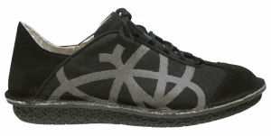Po-Zu 'Brisk' Leather Sneaker (Mens - Black)