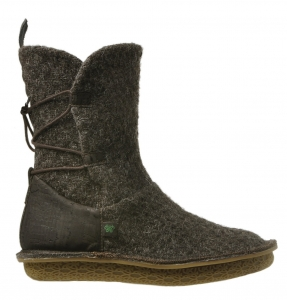Po-Zu 'Piper' Tweed Boot (Ladies - Brown)