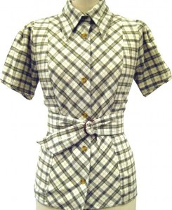 The Natural Store – Emmeline 4 Re Fitted Shirt with Removeable Belt