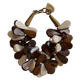 Made 'Nadra' Bracelet   :  fashion jewelry bone beads kibera