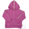 Tatty Bumpkin Bamboo/Cotton Fleece Hooded Sweatshirt (Raspberry)