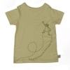 Tatty Bumpkin Bamboo Jersey Monkey T-Shirt (Sandy Yellow)