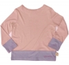 Tatty Bumpkin Bamboo Jersey 'Rose Smoke' Long Sleeve T-Shirt (Pale Pink)