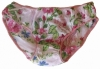 Kerala Crafts 'Rosa Pink' Floral Panties in Gift Bag