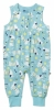 Piccalilly Organic Cotton Dungarees (Sausage Dog Print)