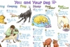 Liz Cook Wall Chart - You and Your Dog