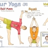 Liz Cook Wall Chart - Developing Your Daily Yoga Practise Chart