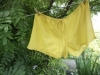 Ayurvedic Fair Trade 100% Organic Cotton Sleep Shorts (Turmeric)